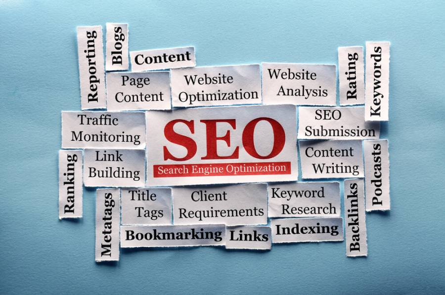 SEO elements background